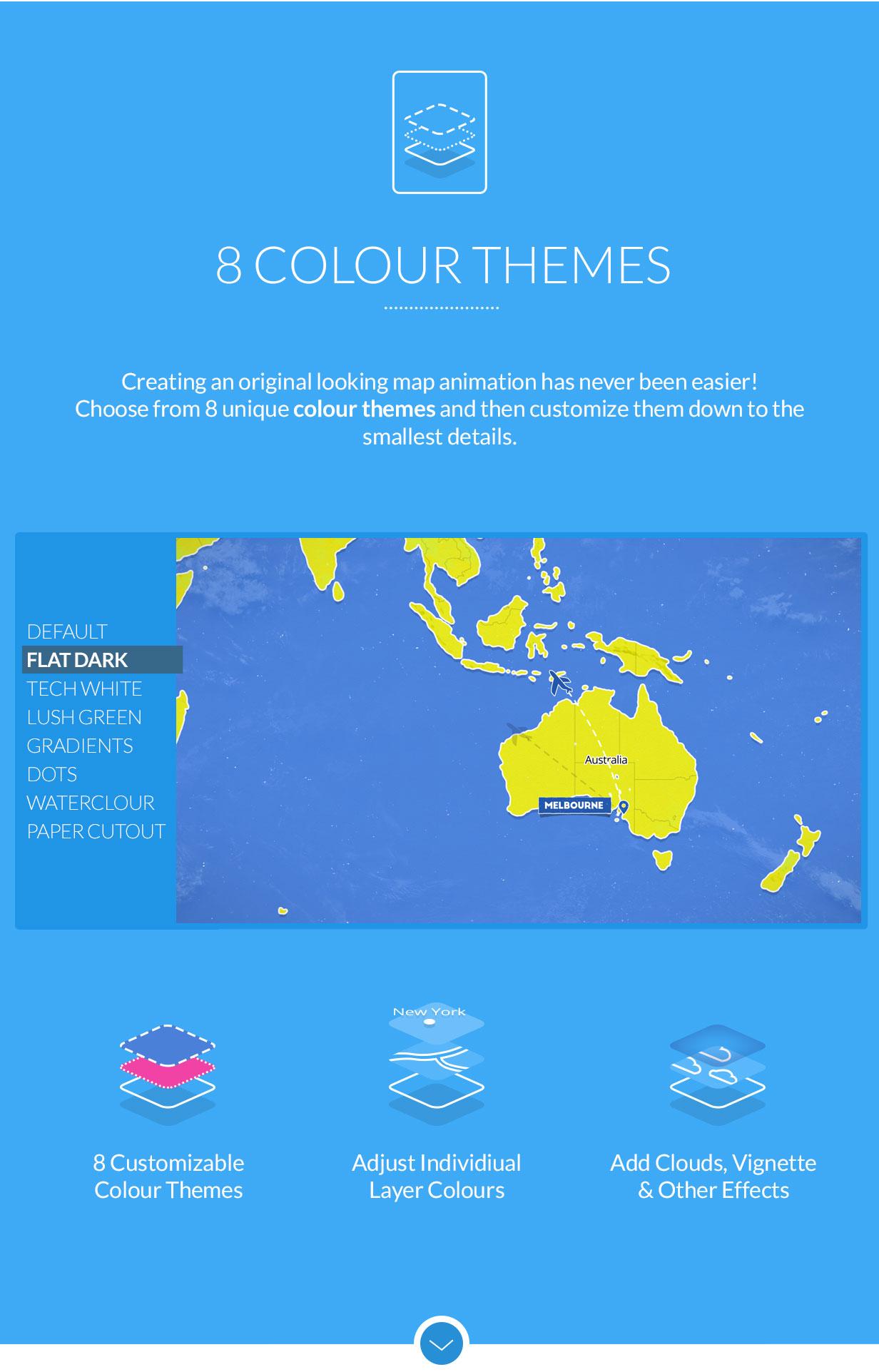 World Travel Maps - 3